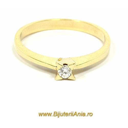 Bijuterii aur inele logodna cu diamante colectii noi