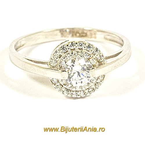 Bijuterii aur alb inel logodna colectie noua OFERTA SPECIALA BLACK FRIDAY
