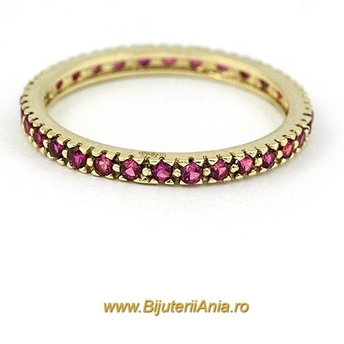 Bijuterii aur galben inele de logodna colectie noua ITALIA RUBIN
