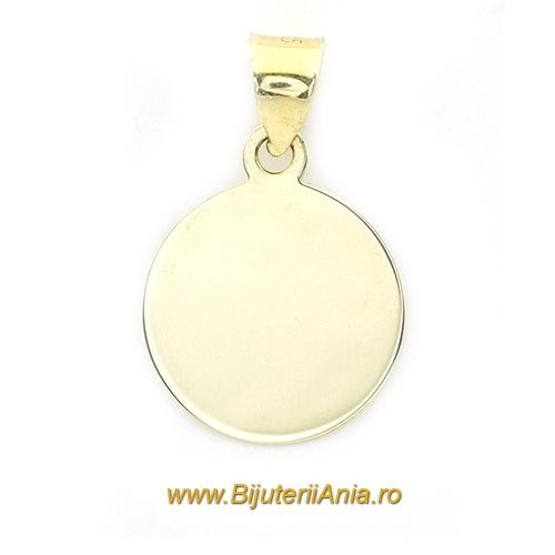 Bijuterii aur galben medalion colectie noua BANUT