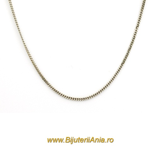 Bijuterii aur alb lanturi colectie noua 40 cm
