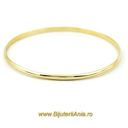 Bijuterii aur galben bratari fixe colectii noi 0.4cm