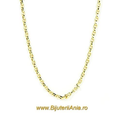 Bijuterii aur galben lant colectie noua 45 cm