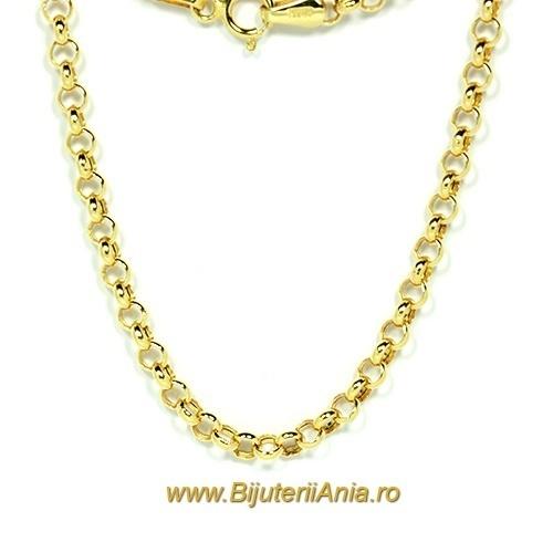 Bijuterii aur galben lanturi colectii noi 50 cm