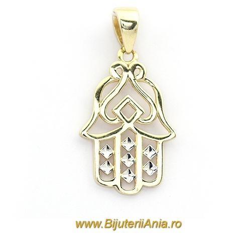 Bijuterii aur galben medalioane colectie noua PALMA FATIMEI