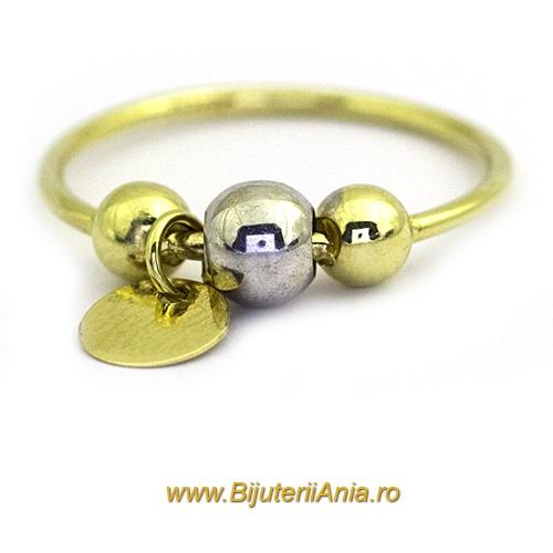 Bijuterii aur galben inele  colectii noi CHARMURI cu BANUT