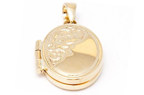 Bijuterii aur galben medalioane FOTO COLECTII NOI