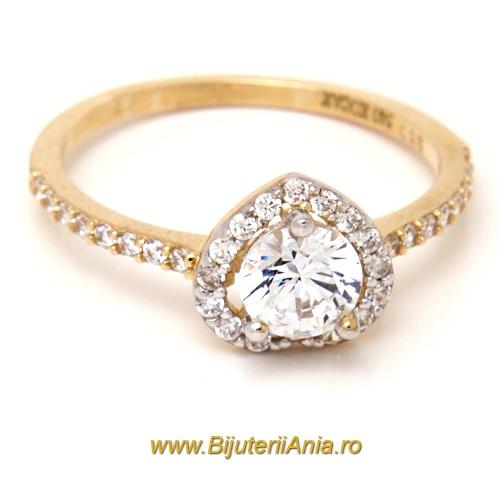Bijuterii aur galben inele de logodna modele noi