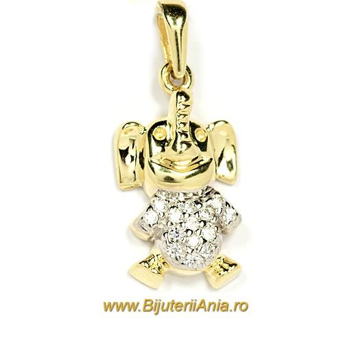 Bijuterii aur medalioane colectie noua ELEFANTEL