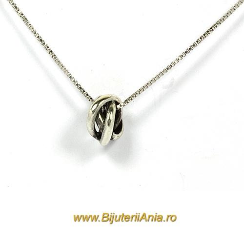 Bijuterii argint 925 lant cu medalion colectie noua