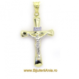 Bijuterii aur galben Medalioane Colectii noi Cruciulita