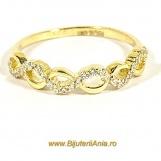 Bijuterii aur inele de logodna colectii noi INFINITY