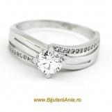 Bijuterii aur alb inele de logodna colectie noua SOLITAIRE