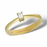 Bijuterii aur galben inel de logodna cu diamante colectii noi ITALIA