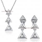 Bijuterii aur alb seturi cu diamante ITALIA