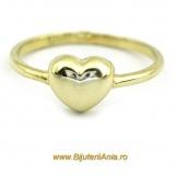 Bijuterii aur galben inele de logodna  colectii noi INIMIOARA