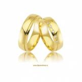 Bijuterii aur galben verighete colectie noua cu zirconiu SHINE