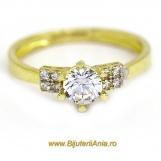 Bijuterii aur galben inele de logodna colectii noi SOLITAIRE R 14