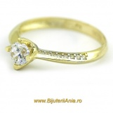 Bijuterii aur galben inele de logodna colectii noi SOLITAIRE R 13