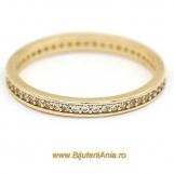 Bijuterii aur galben inele de logodna colectie noua ETERNITY R 12