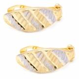 Bijuterii aur galben cercei colectie noua model FATETAT