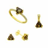 Bijuterii aur galben seturi colectie noua ITALIA - SULTANIT