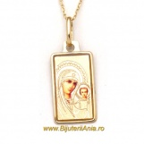 Bijuterii aur galben lanturi cu medalion colectii noi