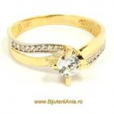 Bijuterii aur galben inele de logodna colectie noua SOLITAIRE
