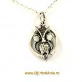 Bijuterii argint lant cu medalion colectie noua BUFNITA