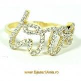Bijuterii aur galben inele de logodna colectie noua LOVE
