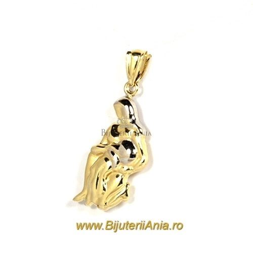 Bijuterii aur galben medalion colectie noua VARSATOR