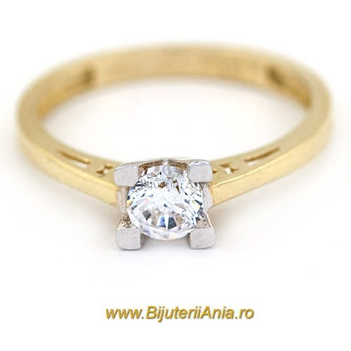 Bijuterii aur galben inele de logodna colectii noi SOLITAIRE