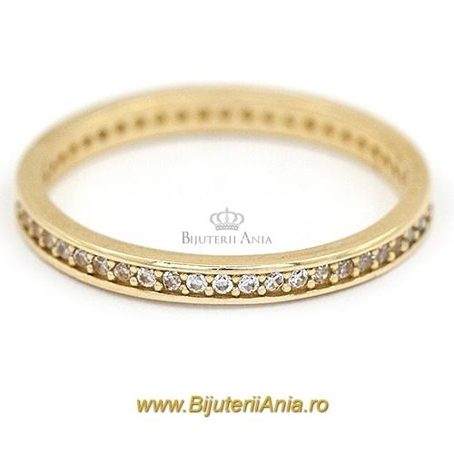 Bijuterii aur galben inele de logodna colectie noua ETERNITY R 10