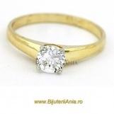 Bijuterii aur inele logodna colectii noi Italia Solitaire