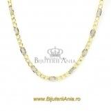 Bijuterii aur galben si aur alb lant colectie noua 45 cm