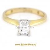 Bijuterii aur galben inele de logodna colectii noi R 13