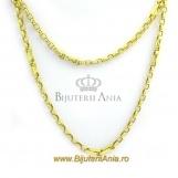 Bijuterii aur galben lanturi colectii noi 65 cm