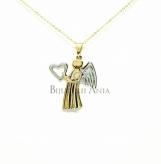 Bijuterii aur galben lanturi cu pandantiv colectii noi INGERAS