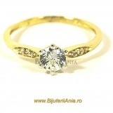 Bijuterii aur galben inele de logodna colectie noua SOLITAIRE R 11