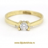 Bijuterii aur galben inele de logodna colectii noi SOLITAIRE R 10