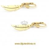 Bijuterii aur galben cercei colectie noua model PANA