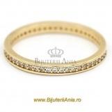 Bijuterii aur galben inele de logodna colectie noua ETERNITY R 9