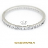 Bijuterii aur alb inele de logodna colectie noua ETERNITY