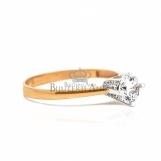 Bijuterii aur galben inele de logodna colectie noua model SOLITAIRE