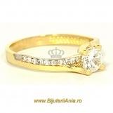 Bijuterii aur inele de logodna colectie noua SOLITAIRE R 13