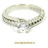 Bijuterii aur alb inele de logodna colectie noua